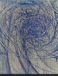 林孝彦、風を綯う日々-反る者は道の動なり、版画/銅版画
