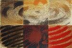 林孝彦、2000-風紡-6、版画/銅版画