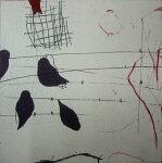 原陽子、ことり、版画/銅版画