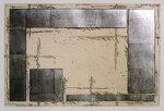 中澤愼一、courtyard2、版画/銅版画、スズ箔