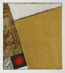中澤愼一、Ratio17、版画/銅版画、金箔、虹彩箔