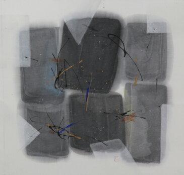 書/墨・顔料 荻野丹雪 聚(じゅ) 現代アート 抽象 送料無料 ※この商品を大幅値引き表示している偽サイトがありますのでご注意下さい。