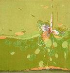 朴再英、花ふるように、版画/水性木版画