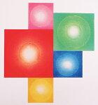 とくだあきら、Cosmic-dust'06-5RPYBGS、版画/銅版画+手彩色