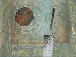 山本正文、冬の花、版画/銅版画
