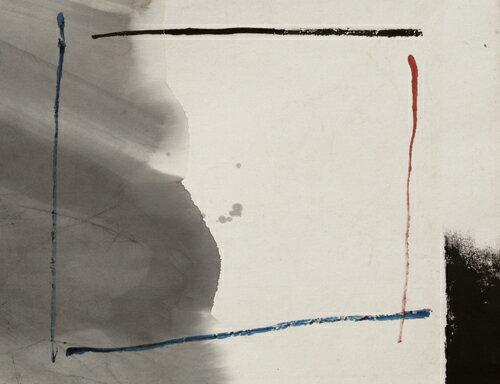【モダン和風書】書/墨・顔料荻野丹雪Untitled-923現代アート送料無料