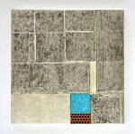 中澤愼一、Statics111102、現代アート/レリーフ/木・箔・顔料