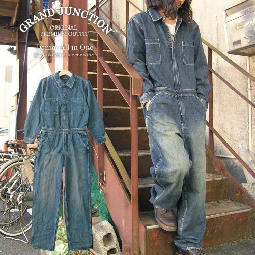 【GrandJunction】デニムオールインワ...の商品画像