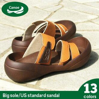 Canoe canoe Sandals USA ビッグソールスタンダード / men's / made in Japan /BF106 / regatta