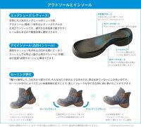 RegettaCanoeエッグシューズ/ネップツィードショートブーツ/CJES6125/秋冬/厚底/日本製/リゲッタカヌー公式