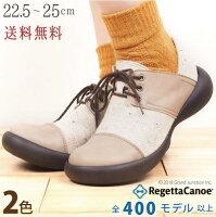 RegettaCanoe/ツイード×合皮コンビネーションシューズ/レディース/CJFS6803/フィールドシューズ/秋冬/日本製/リゲッタカヌー公式