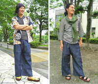 【GrandJunction】タイパンツ/デニムタイパンツ