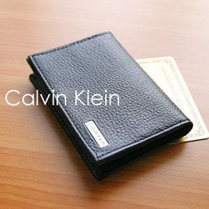 カルバンクライン Calvin Klein メンズ カードケース 名刺入れ 紳士用 男性用 アウトレットポイ...