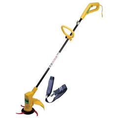 軽量タイプで女性でもラクラク使えます電気草刈機 刈る刈るボーイ SBC-280A
