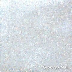 ピカエース ラメカラーレインボー #420ホワイト(0.7g入り)【ネコポス対応】