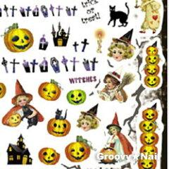 Sha-Nail Pro(写ネイルプロ) ハロウィンナイトA 【メール便160円対応】(halloween2)