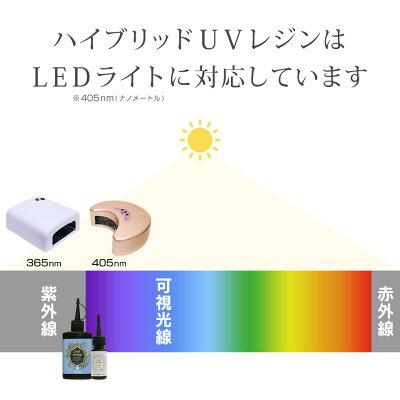 レジンクラフトハイブリッドUVレジンレジンスターターキットLEDライト12W【送料無料】