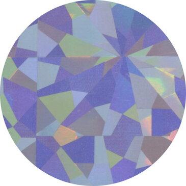 MATIERE (マティエール) ネイルパーツ ネイルホイル レインボーシルバー ポリゴン 4×150cm 【ネコポス対応】