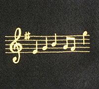 【定形外郵便にて送料無料】ピアノキーカバー★音符/ブラックCO-120K/OP/BLNAKANOナカノ/音楽雑貨ケンバンカバーMUSICFORLIVING【smtb-kd】