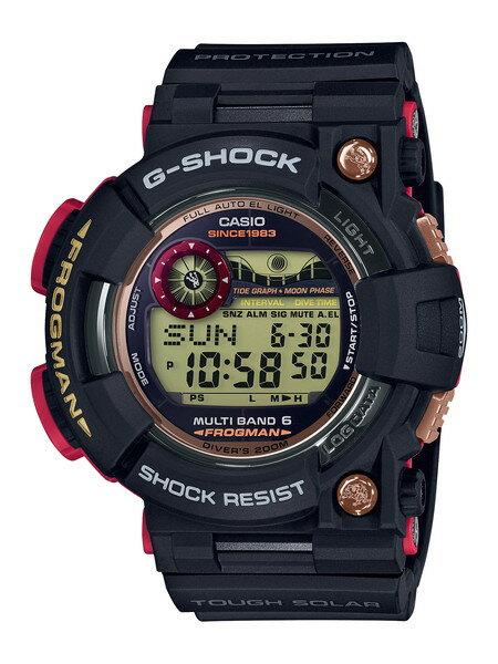 腕時計, メンズ腕時計 4,000OFFCASIO G-SHOCK 35th Anniversary MAGMA OCEAN 35 MASTER-OF-G FROGMAN GWF-1035F-1JR