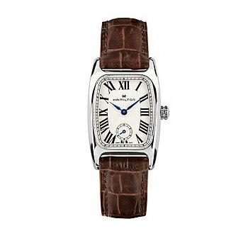 HAMILTON ハミルトン Boulton アメリカンクラシック ボルトン レディース レザーH13321511 腕時計