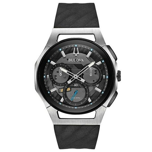 【たっぷりポイントMAX10倍! ショッピングローンMAX60回無金利】【国内正規品】BULOVA(ブローバ)CURV(カーブ)98A161【時計 腕時計】