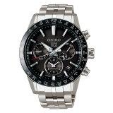 SEIKO セイコー ASTRON アストロン メンズ 5Xシリーズ デュアルタイム シルバー SBXC003 ソーラーGPS衛星電波時計 腕時計