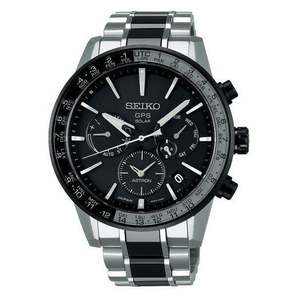 SEIKO セイコー ASTRON アストロン メンズ 5Xシリーズ デュアルタイム セイコーグローバルブランド コアショップ限定販売 SBXC011 ソーラーGPS衛星電波時計 腕時計