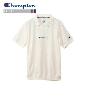 【あす楽対応】チャンピオン ゴルフウェア ポロシャツ リバースウィーブガゼット C3-PG312-010 メンズ 2019春夏