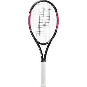 プリンス テニス 硬式テニスラケット ガット張り上げ済み レディース パワーライン レディ 100 7TJ034