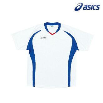 ◇小14S1 asics(亞瑟士)Jr.遊戲襯衫短袖XS3124-0145 T恤