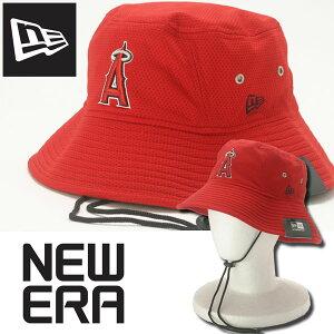 【在庫処分】【メール便対応】【あす楽対応】ニューエラ エンゼルス バケットハット キャップ 帽子 メンズ New Era ANGELS 並行輸入品