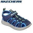 【在庫処分】【あす楽対応】スケッチャーズ C-FLEX SANDAL 97810L-NVBL ジュニア シューズ