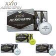 在庫処分 ゼクシオ エアロスピン ゴルフボール XXIO AERO SPIN ゴルフボール 1ダース(12P) 4ダース以上送料無料 【あす楽対応】