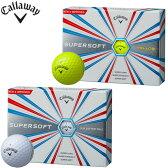 キャロウェイ スーパーソフト ゴルフボール 1ダース(12P) 2017モデル callaway SUPERSOFT 【あす楽対応】