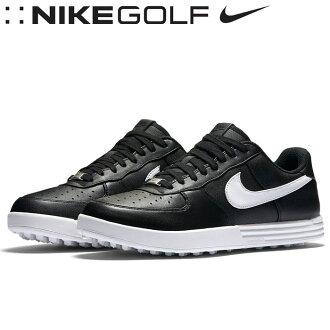 ★對應&★NIKE GOLF(耐吉高爾夫球)耐吉月神力量1男子的高爾夫球鞋818727