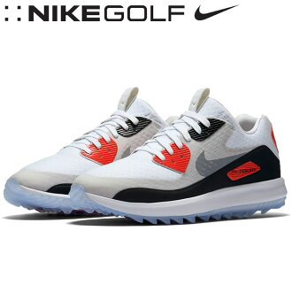 ★對應&★NIKE GOLF(耐吉高爾夫球)耐吉空氣變焦距鏡頭90 IT人高爾夫球鞋2017年型號844569