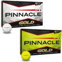 【2012年モデル】 タイトリスト PINNACLE GOLD ピナクルゴールド ゴルフボール 【15個入り】