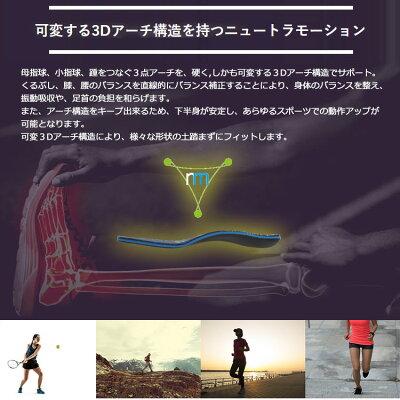 【メール便】【あす楽対応】ムジーク インソール ニュートラモーション MCIS-1901 muziik neutramotion 2020モデル 画像2