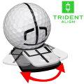 【あす楽対応】トライデントアライン可動式ボールマーカーTRIDENTALIGNBALLMARKERTABK1USAモデル