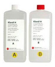 透明シリコン樹脂 2液(A+B)混合タイプ 1Lx2本 イヤホン自作 イヤーモールド製作用 Klarsil- H 並行輸入品(Xメール便不可)