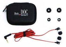 【送料無料】【MysticDOC】スマートフォン対応反響音スピーカー搭載カナル型高音質リモコンマイク付きイヤホン