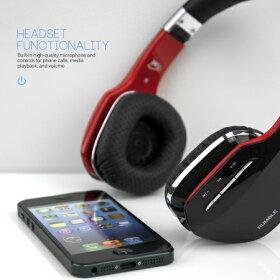 【商品レビュー記入で送料無料】最新機種入荷BluetoothワイヤレスヘッドフォンブルートゥースヘッドフォンHi-クオリティサウンドAir-Fi-AF80Rumbleスマホ対応有線無線両用