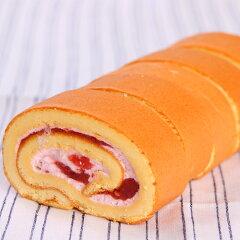 伊豆産のいちご、「紅ほっぺ」を使った自家製ジャムを使用しています。ロールケーキの宝石箱 [...