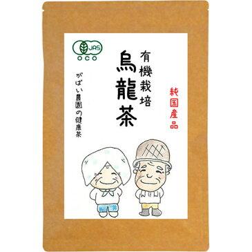 有機栽培 烏龍茶 3g×40包(烏龍茶 国産 ウーロン茶 ティーバッグ 無農薬 オーガニック 健康茶)
