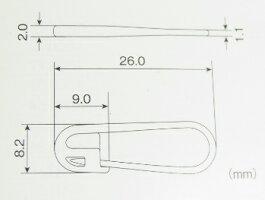 [メール便対応]プラ安全ピン/先尖/樹脂製/オールプラスチック製20個セット