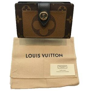 【LOUISVUITTON】LVルイヴィトンM69432ポルトフォイユ・ジュリエットブラウンモノグラムジャイアントリバース二つ折り財布【送料無料】【未使用】【中古】