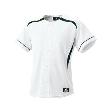 ◆◆ <エスエスケイ> SSK ダミーオープンプレゲームシャツ BW0901 (1070:ホワイト×ネイビー) エスエスケイ(bw0901-1070-ssk1)