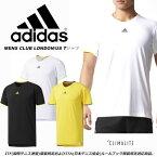 送料無料 メール便発送 即納可☆ 【adidas】アディダス 特価 MENS CLUB LONDON/US Tシャツ テニス ITFおよびJTAルールブック服装規定適応商品(djf02-16skn)