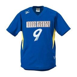 ◆◆送料無料 メール便発送 <ミズノ> MIZUNO ゲームシャツ(ドッジボール) A62HY144 (84:ブルー×イエロー)